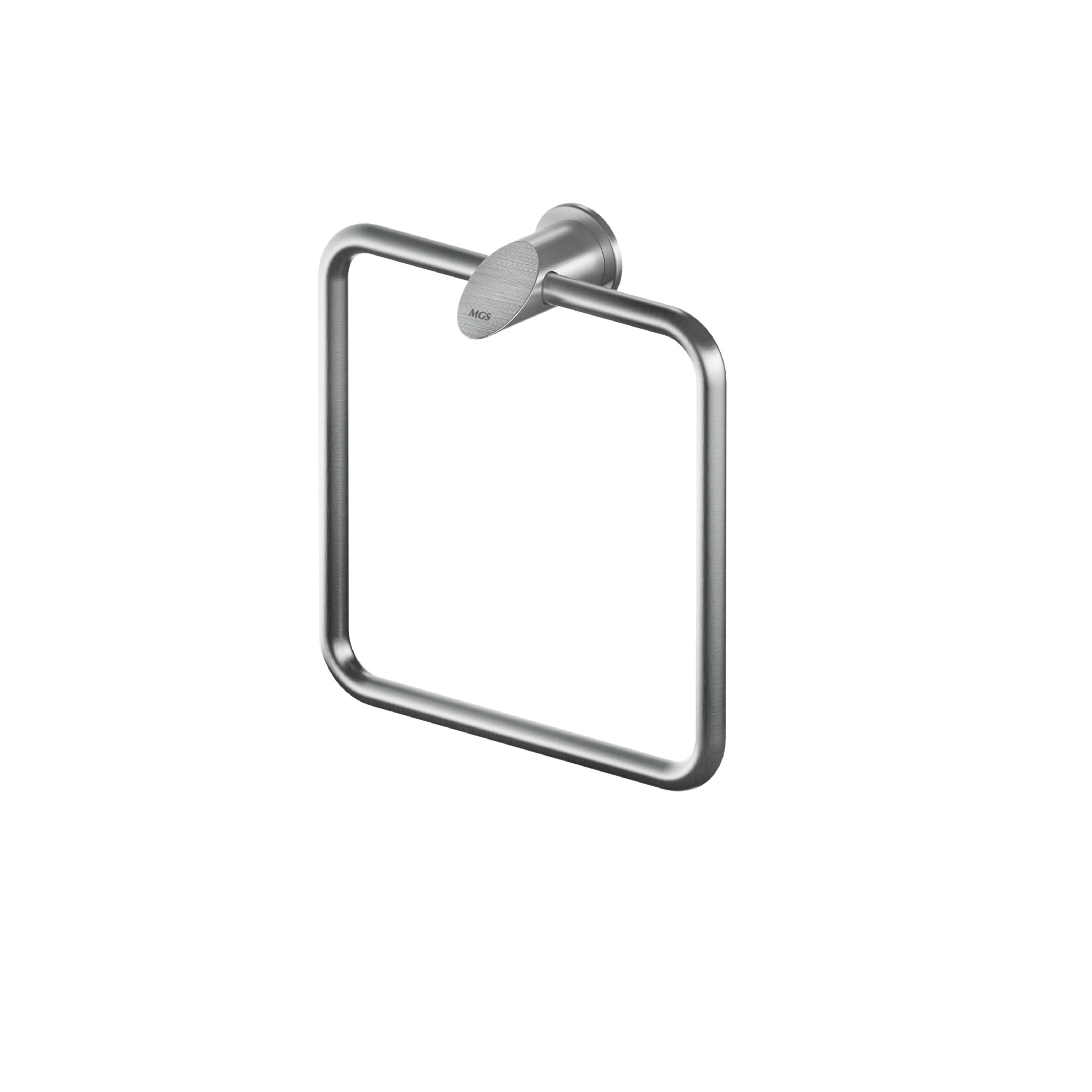 MGS AC932 Square Towel Holder - matte stainless