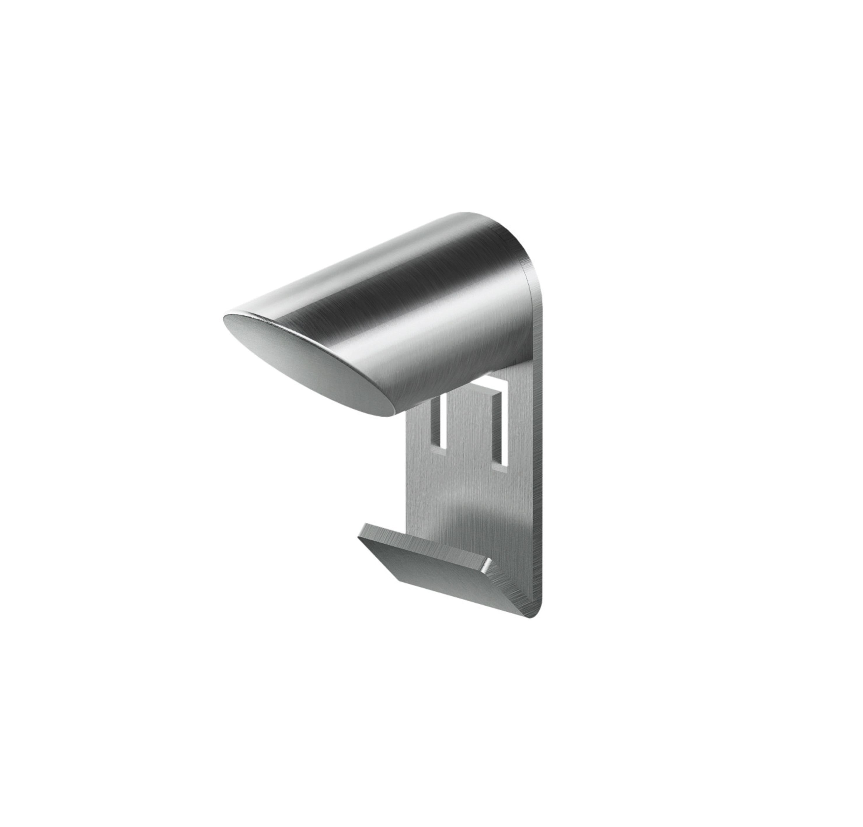 MGS AC950 Robe Hook - matte stainless