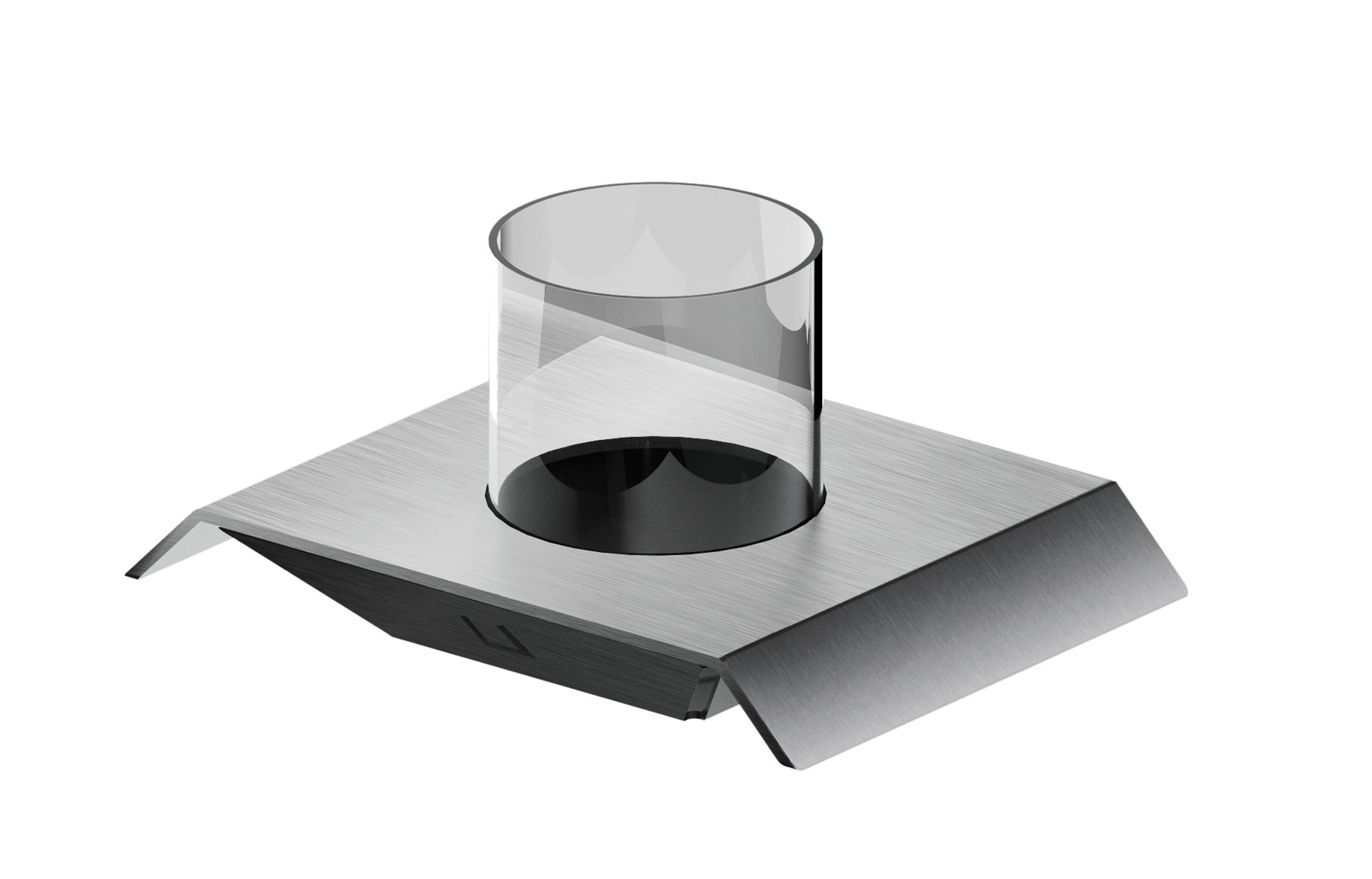 MGS AC962 Glass Holder - matte stainless
