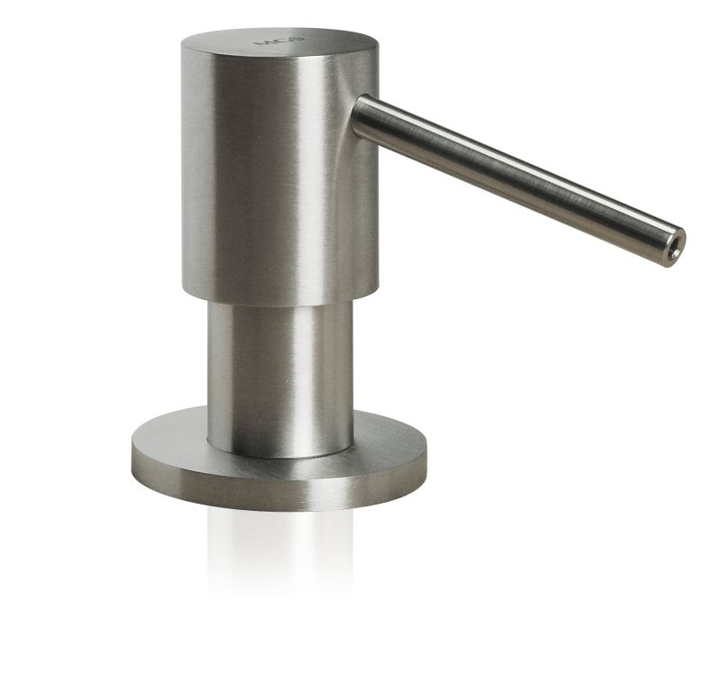 MGS SD2 Built In Soap Dispenser with Round Head - matte stainless