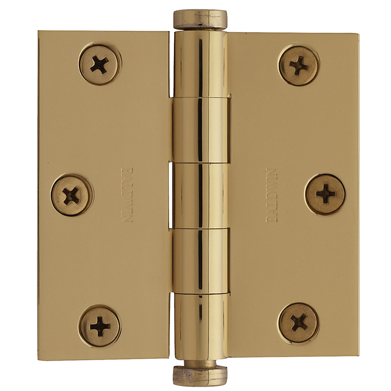 "Baldwin 1030 3"" x 3"" Square Corner Hinges"