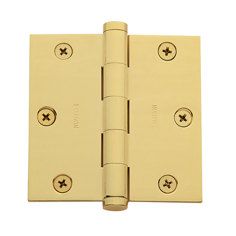 "Baldwin 1035 3.5"" x 3.5"" Square Corner Hinges"