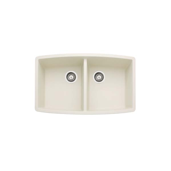 440070 Blanco Performa Silgranit II Double Bowl - Biscuit