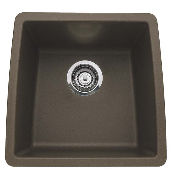 440078 Blanco Performa Silgranit II Single Bowl - Cafe Brown