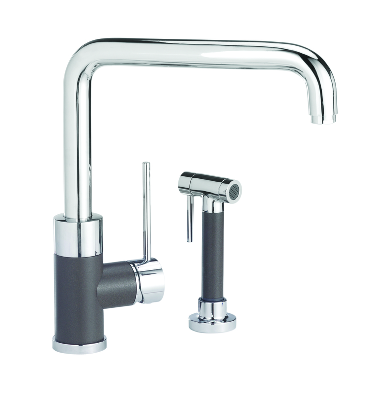 blanco purus i kitchen faucet wside spray cafe brown mix - Blanco Faucets