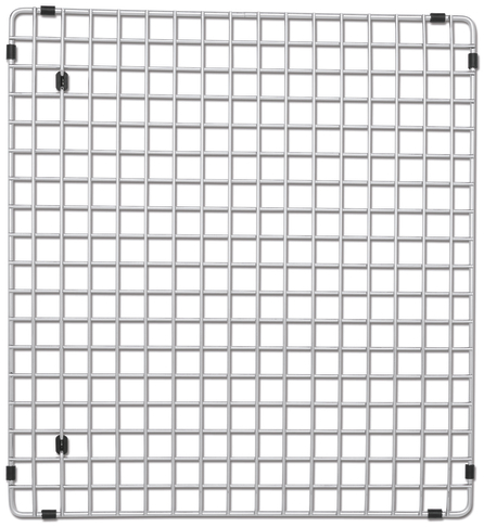 "516367 Blanco Stainless Steel Sink Grid (Fits Precision 16"" Drainer)"