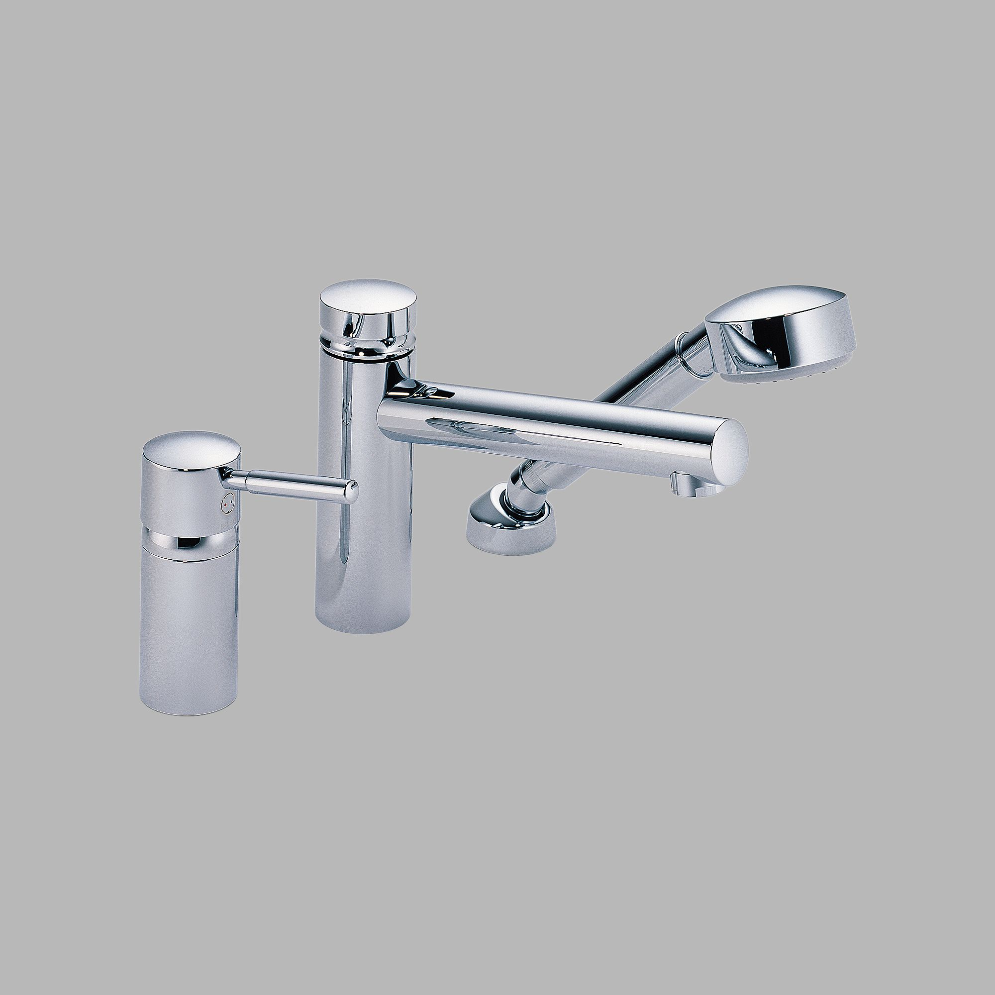 67214 Brizo Quiessence Roman Tub with Hand Shower - Trim And Rough