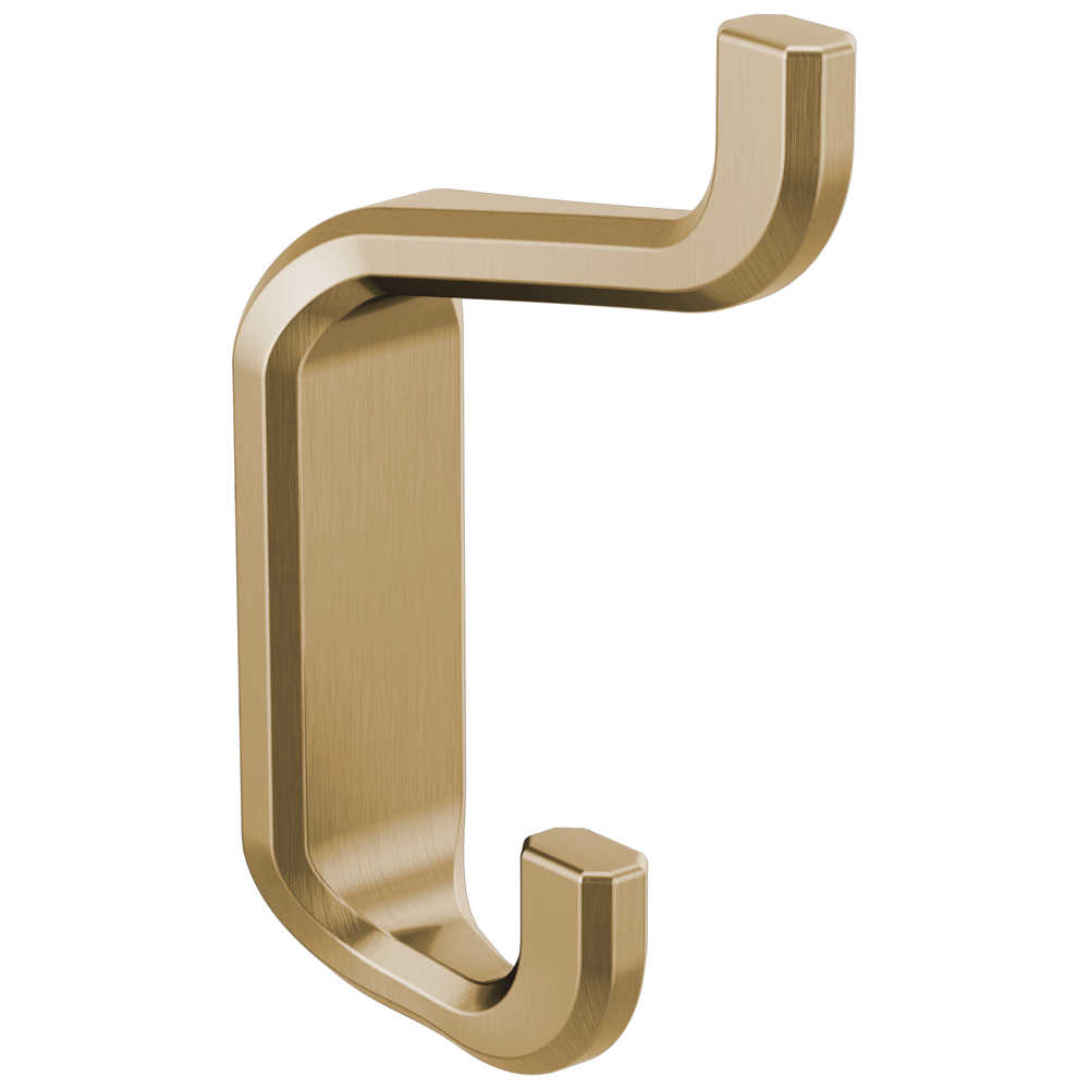 Brizo 693598 Gl Levoir Double Robe Hook Luxe Gold