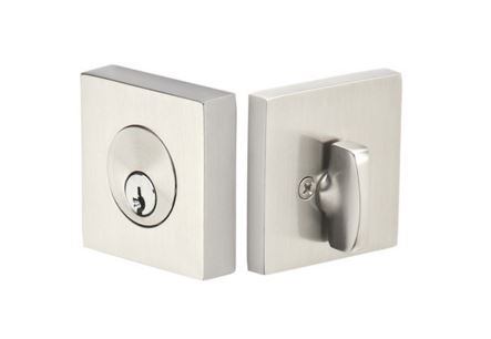 Emtek 8469 Single Cylinder Square Deadbolt