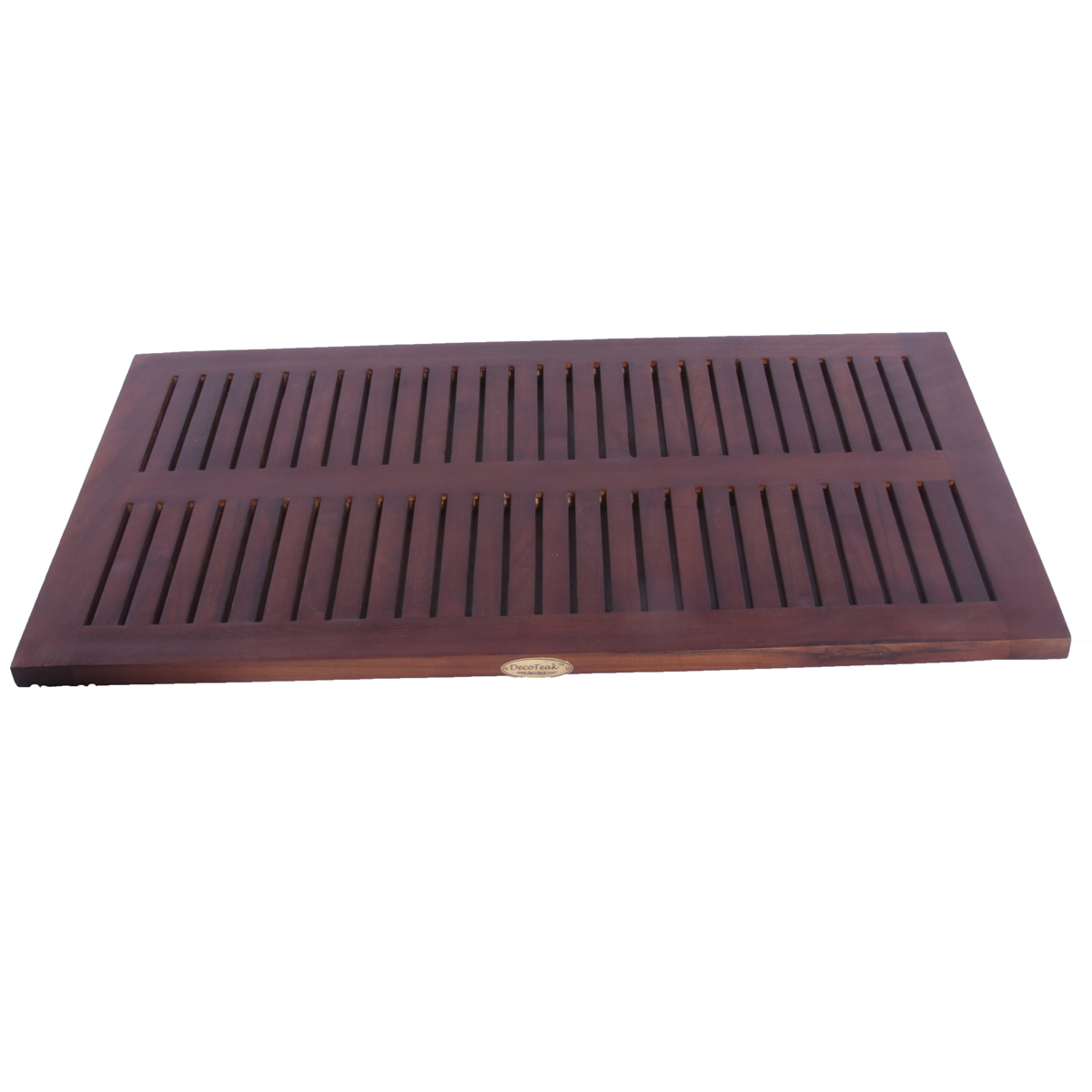 "DT134 31"" x 18"" Classic Teak Spa Shower and Floor Mat"