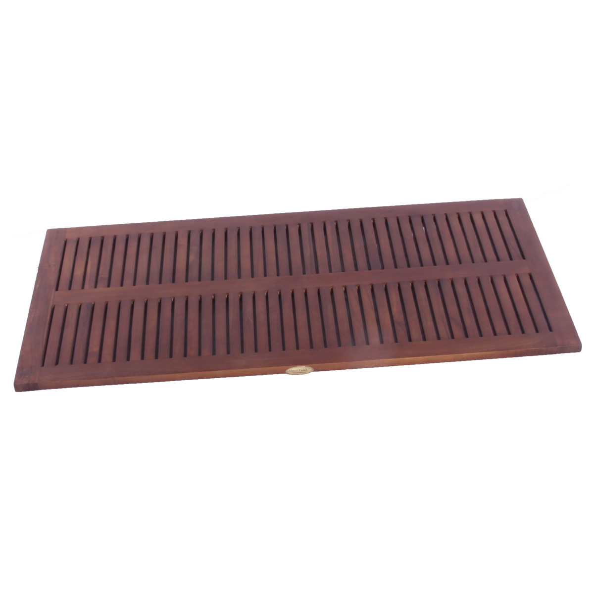 "DT135 40"" x 20"" Classic Teak Spa Shower and Floor Large Mat"