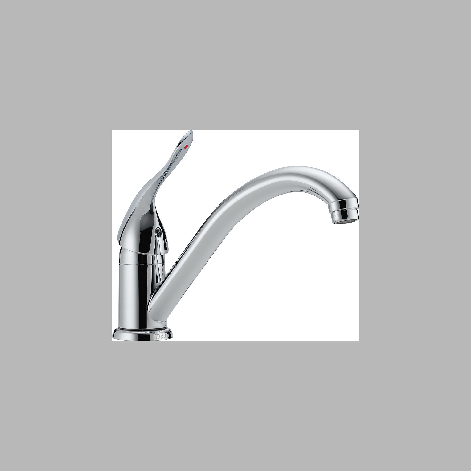 Delta 101LF-HDF Single Handle Centerset Kitchen Faucet