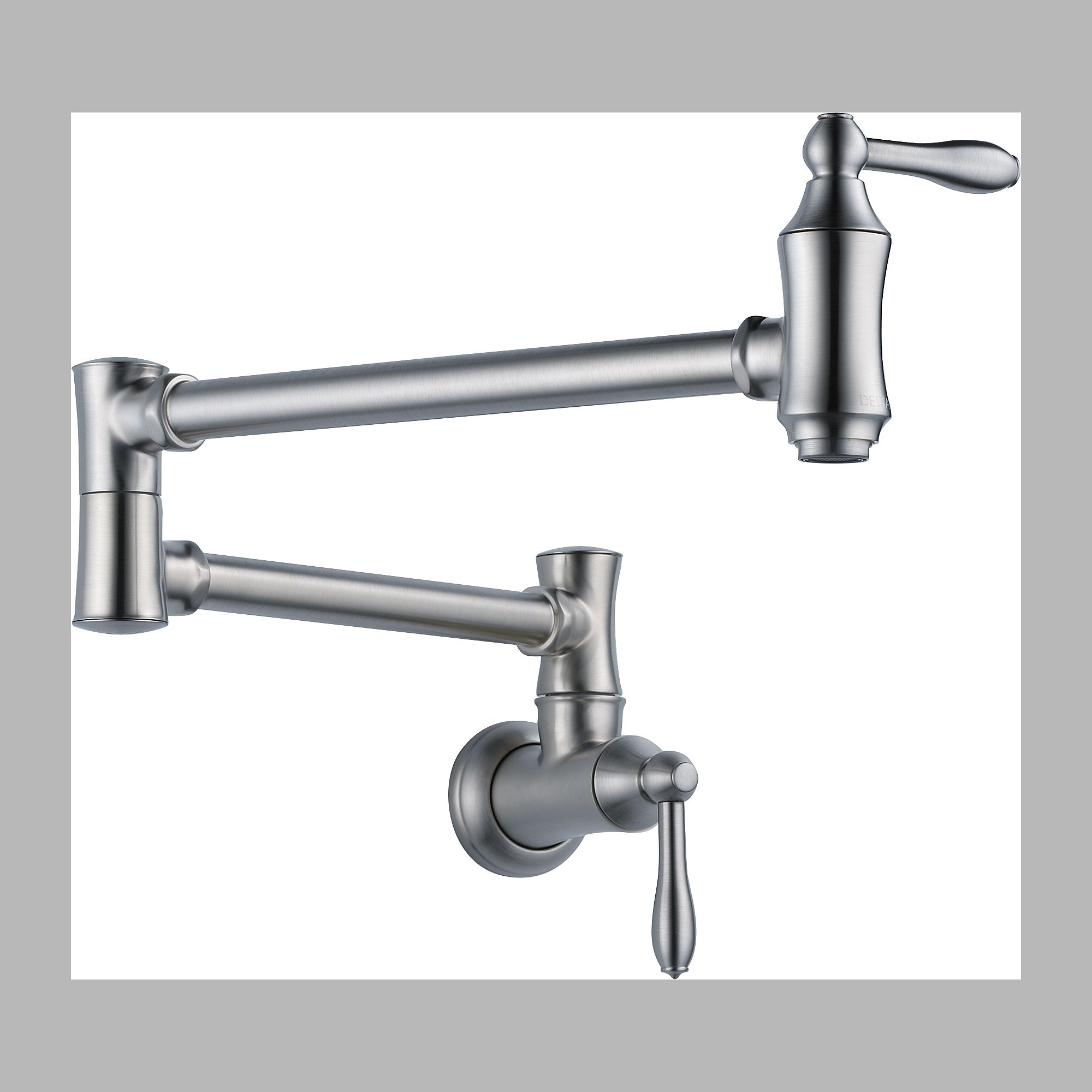 Delta 1177LF-AR Pot Filler Faucet - Wall Mount