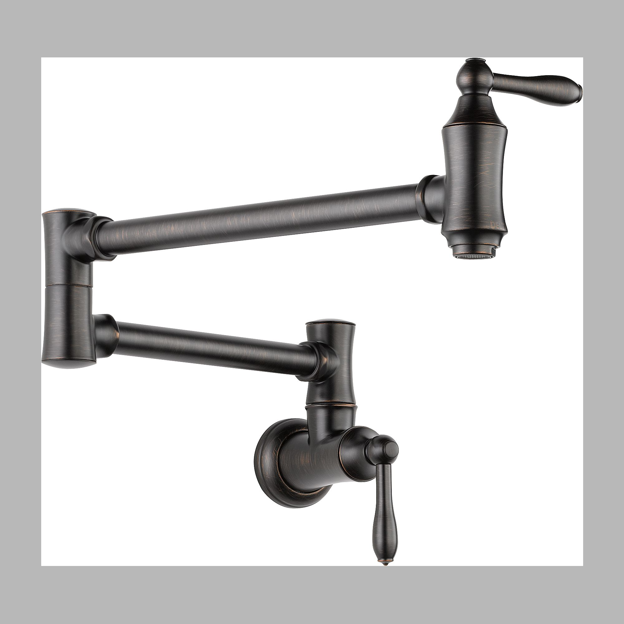 Delta 1177LF-RB Pot Filler Faucet - Wall Mount