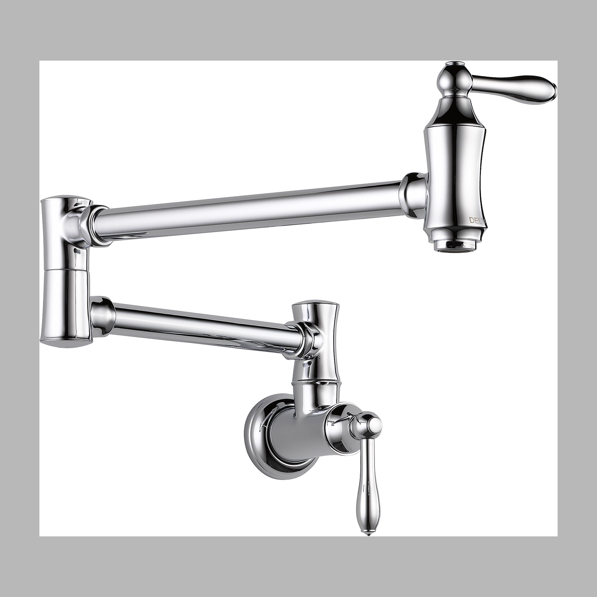 Delta 1177LF Pot Filler Faucet - Wall Mount