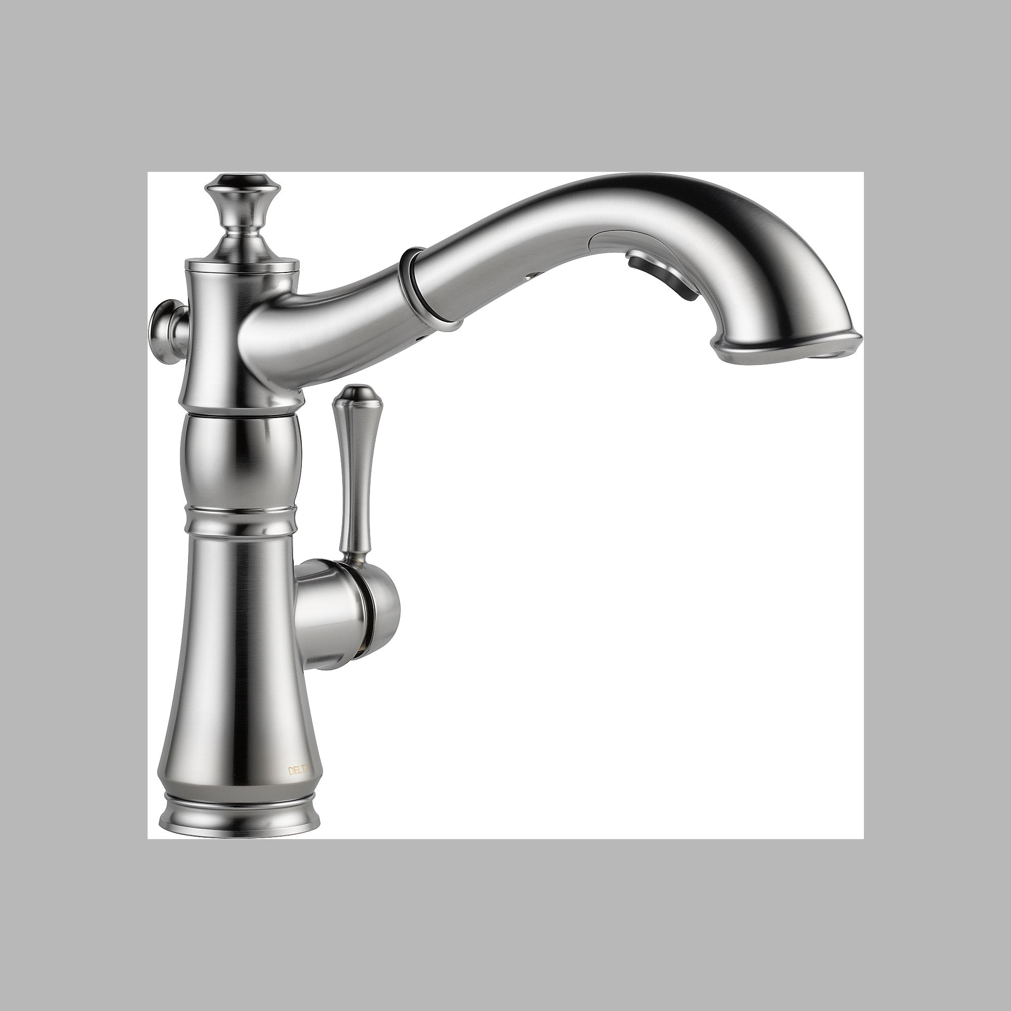 Delta 4197-AR-DST Single Handle Pull Out Kitchen Faucet