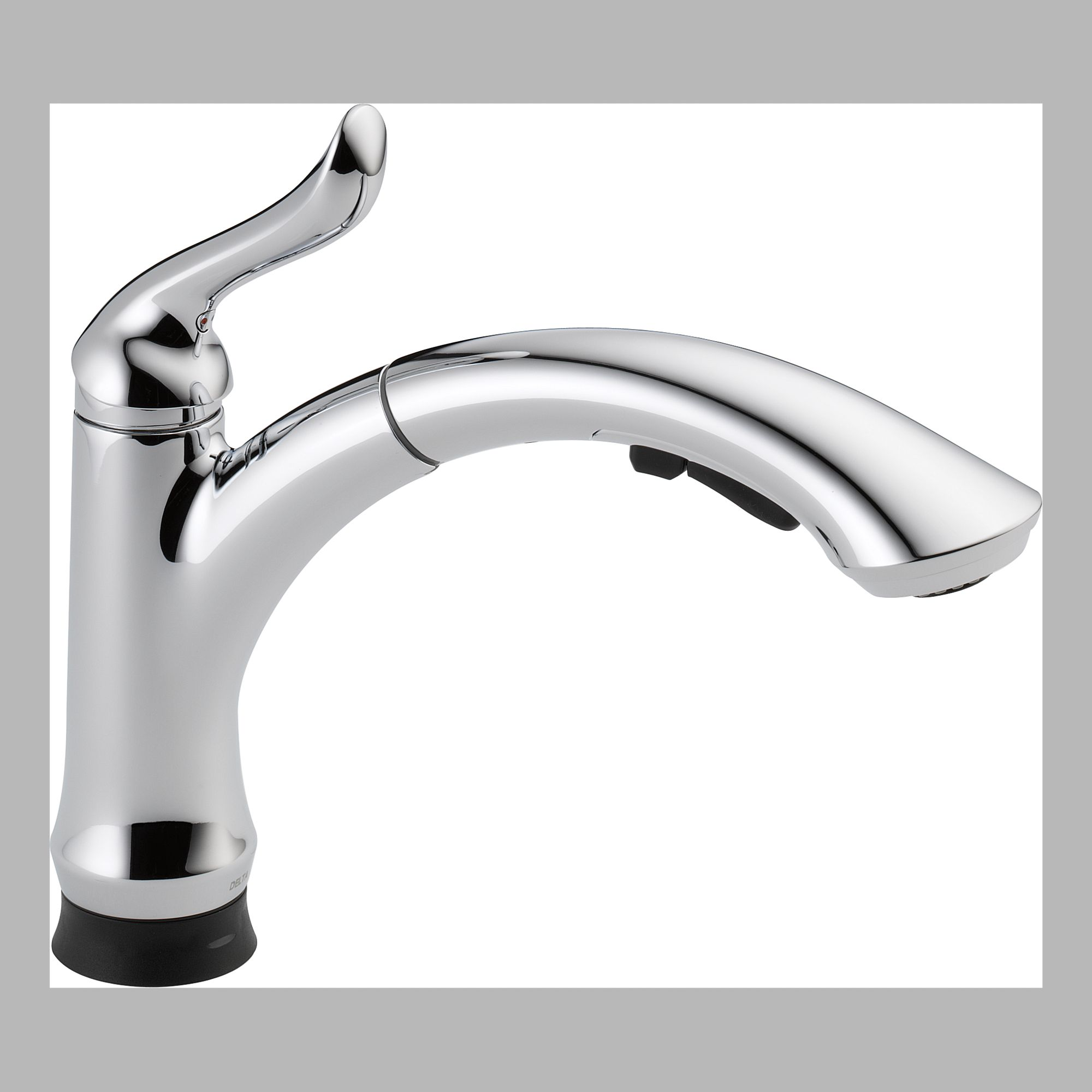 Delta 4353T-DST Single Handle Pull Out Kitchen Faucet