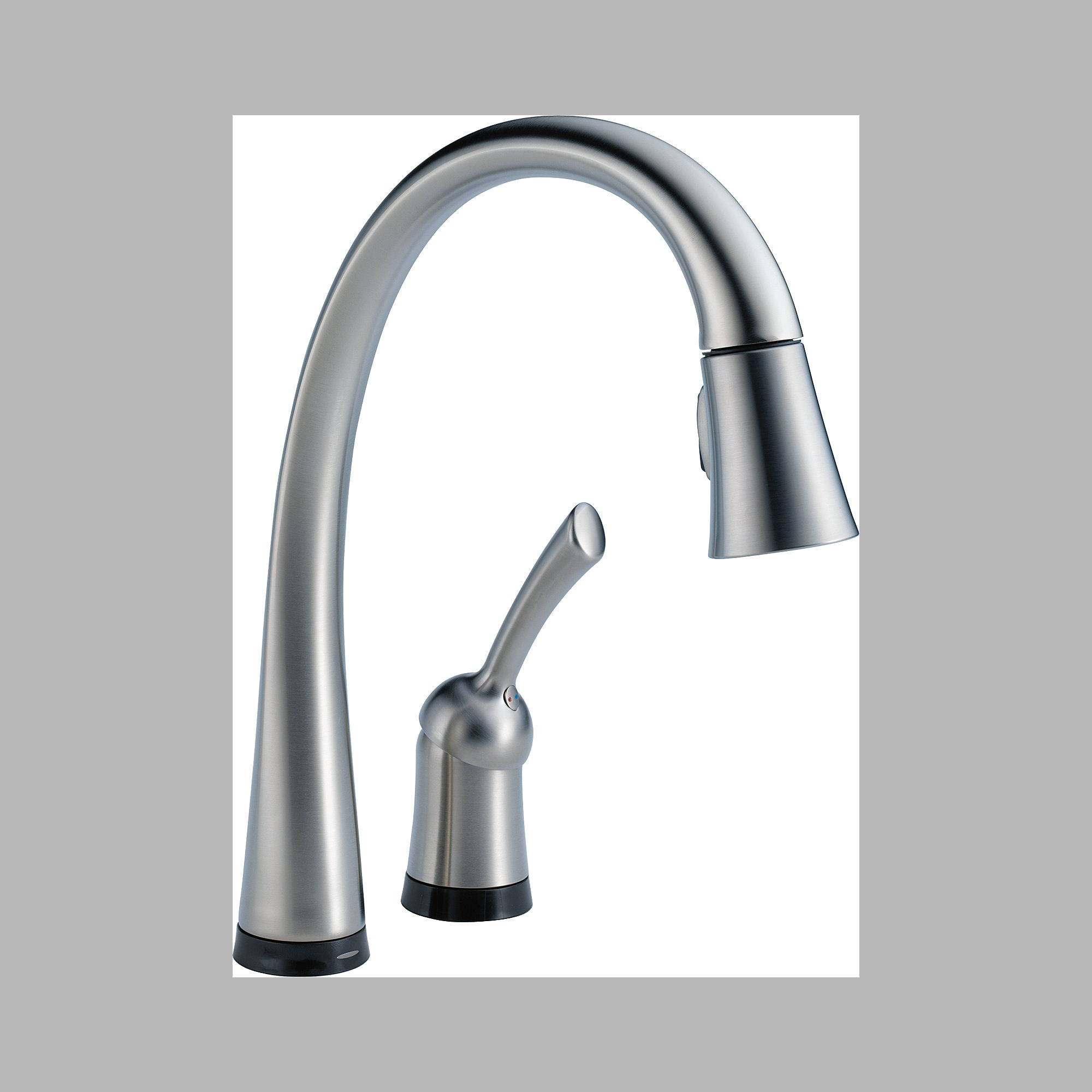 Delta 980T-AR-DST Single Handle Pull Down Kitchen Faucet