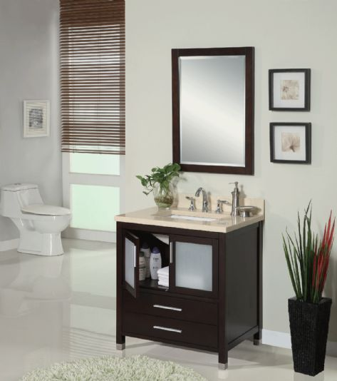 "Empire Industries CH25XDC Chelsea-X 25"" Vanity in Dark Cherry"