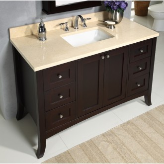 "Empire Industries EM48SC Empress 48"" Vanity - Spice Cherry"