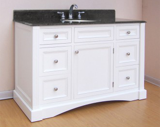 "Empire Industries N48W Newport 48"" Vanity - White"