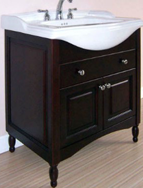 "Empire Industries WX25 Windsor-X 25"" Extra Deep Vanity - Dark Cherry"