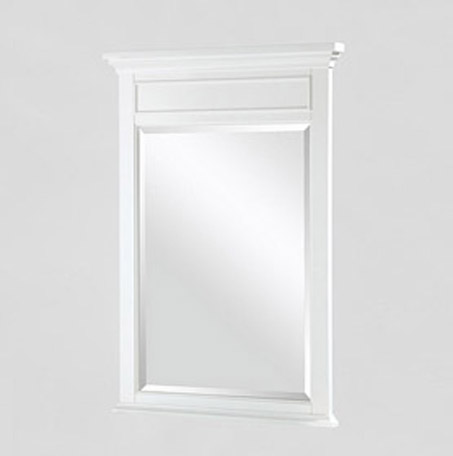 "Fairmont 1502-M24 Framingham 24"" Mirror - Polar White"