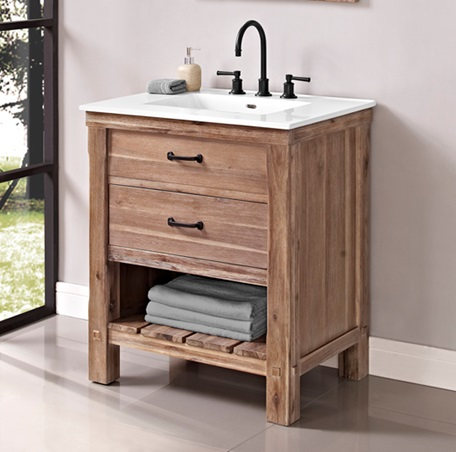 "Fairmont 1507-VH30 Napa 30"" Open Shelf Vanity - Sonoma Sand"