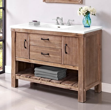 "Fairmont 1507-VH48 Napa 48"" Open Shelf Vanity - Sonoma Sand"