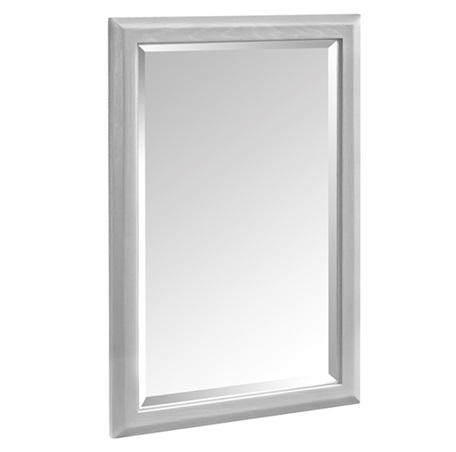 "Fairmont 1510-M24 Charlottesville 24"" Mirror - Light Gray"