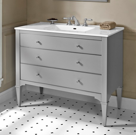 "Fairmont 1510-V42 Charlottesville 42"" Vanity - Light Gray"