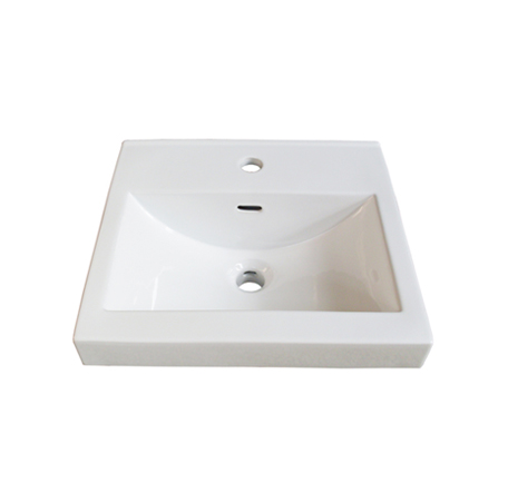 "Fairmont S-11018W1 Sinks 18x16"" Ceramic Sink Pre-drilled - Single Hole"