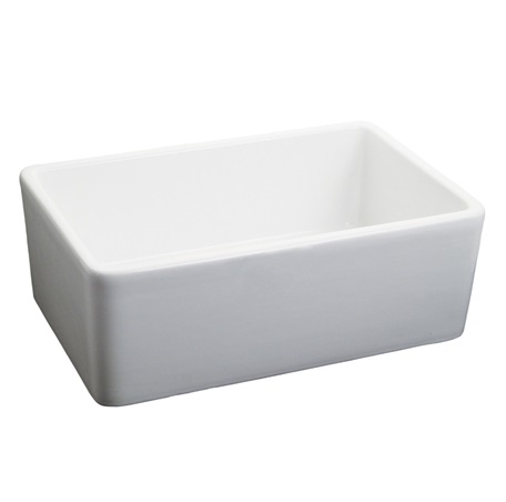 "Fairmont S-F2416WH Sinks 24x16"" Fireclay Apron Sink"