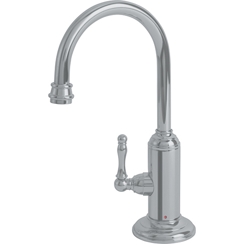 Franke LB12180 Farm House Little Butler Hot Filtered Water Faucet - Satin Nickel