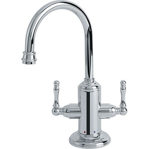 Franke LB12200 Farm House Little Butler Hot/Cold Filtered Water Faucet - Polished Chrome