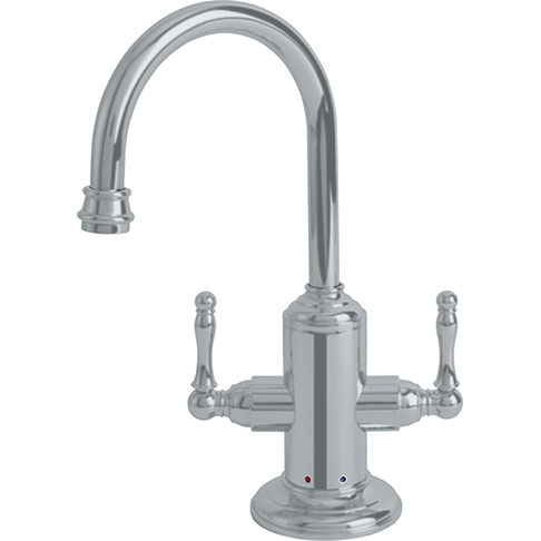 Franke LB12280 Farm House Little Butler Hot/Cold Filtered Water Faucet - Satin Nickel