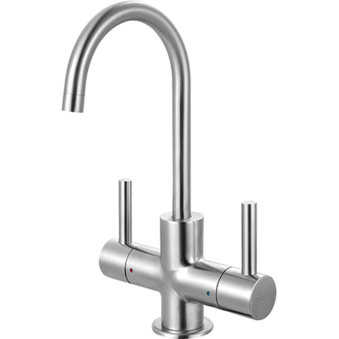 Franke LB13250 Steel Little Butler Hot/Cold Filtered Water Faucet