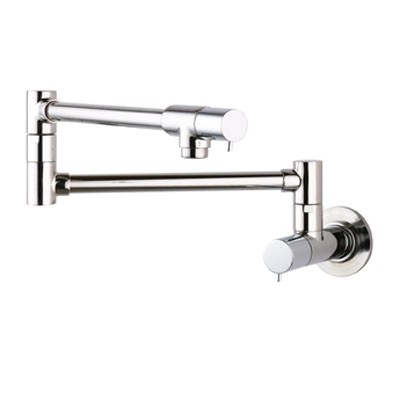 Hansgrohe 04057860 Talis S Pot Filler Wall Mount - Steel Optik