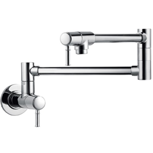 Hansgrohe 04218800 Talis C Pot Filler Wall Mount - Steel Optik
