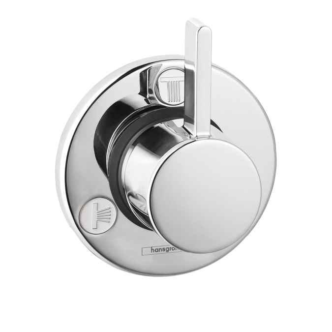 Hansgrohe 04232000 S Trio/Quattro Diverter Trim - Chrome