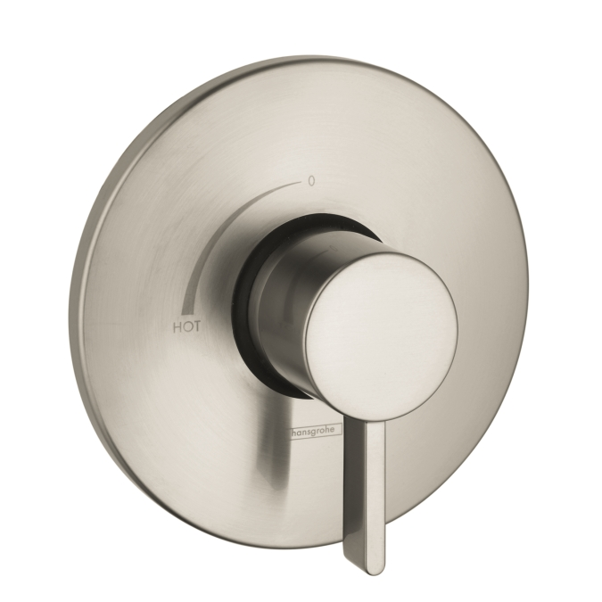 Hansgrohe 04233820 S Pressure Balance Trim - Brushed Nickel