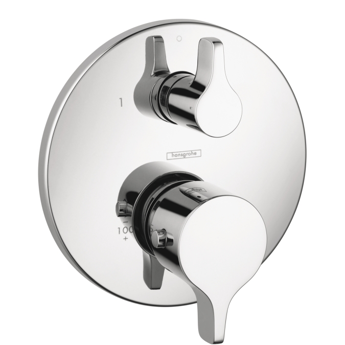 Hansgrohe 04352000 S/E Thermostatic Trim with Volume Control - Chrome