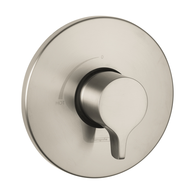 Hansgrohe 04355820 S/E Pressure Balance Trim - Brushed Nickel