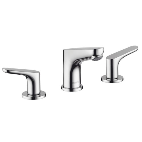 Hansgrohe 04369820 Focus 100 Widespread Faucet - Brushed Nickel