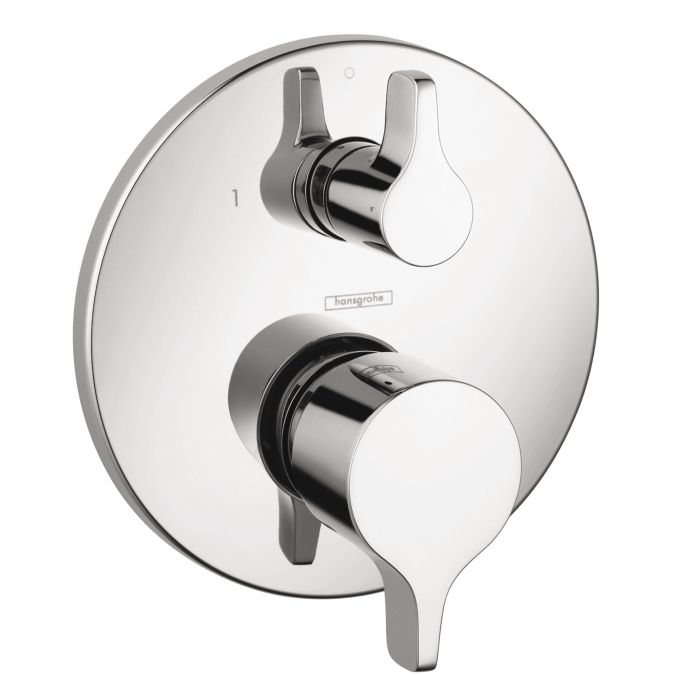 Hansgrohe 04448000 S/E Pressure Balance Trim with Diverter - Chrome