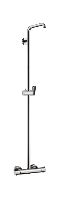 Hansgrohe 04536820 Croma Showerpipe without Shower Components - Brushed Nickel