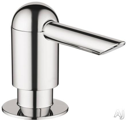 Hansgrohe 04537800 Soapdispenser Transitional - Steel Optik