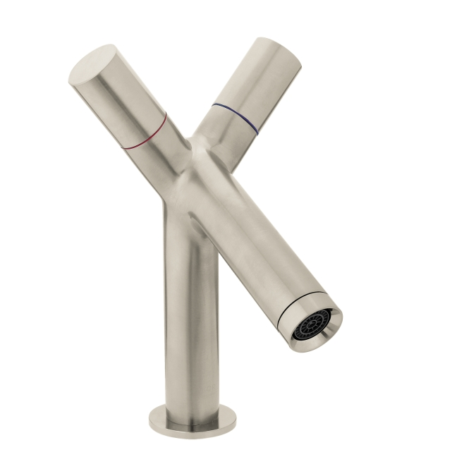 Hansgrohe 10030821 Axor Starck 2 Handle Single Hole Faucet - Brushed Nickel