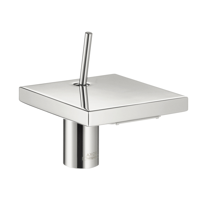"Hansgrohe 10070001 4"" Axor Starck X Single Hole Faucet - Chrome"