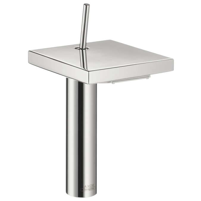 "Hansgrohe 10071001 8"" Axor Starck X Single Hole Faucet - Chrome"
